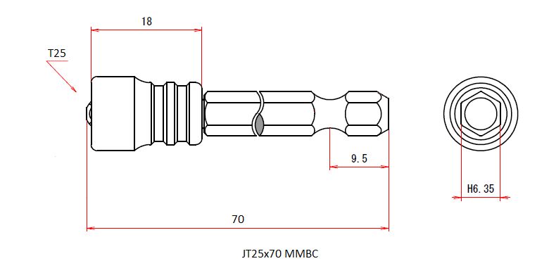 JT25x70 MMBC (Magnetic Viscatch)