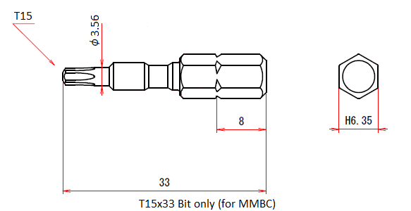 T15x33 Bit only (for MMBC)