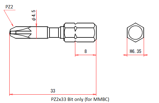 PZ2x33 Bit only (for MMBC)