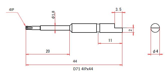 D71 4IPx44