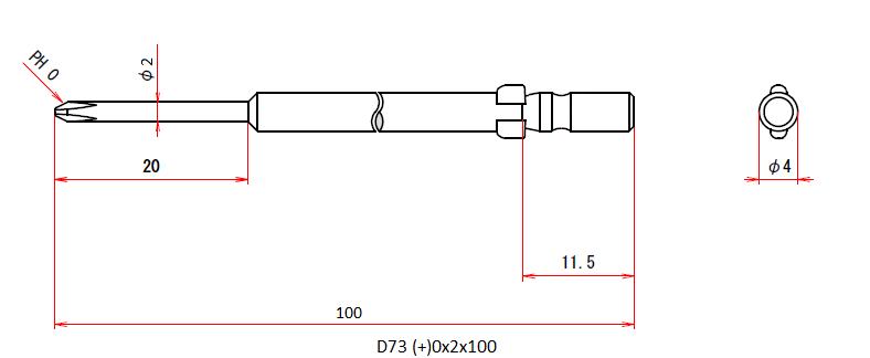 D73 (+)0x2x100