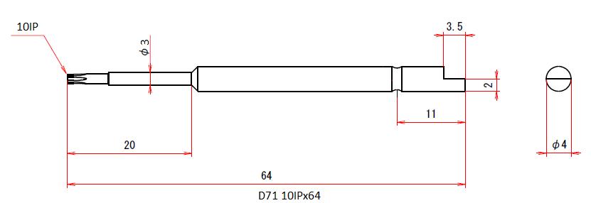 D71 10IPx64