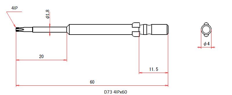 D73 4IPx60
