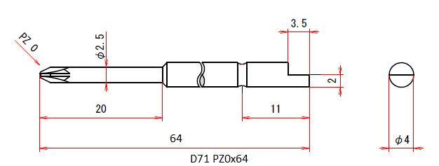 D71 PZ0x64