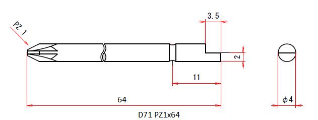 D71 PZ1x64