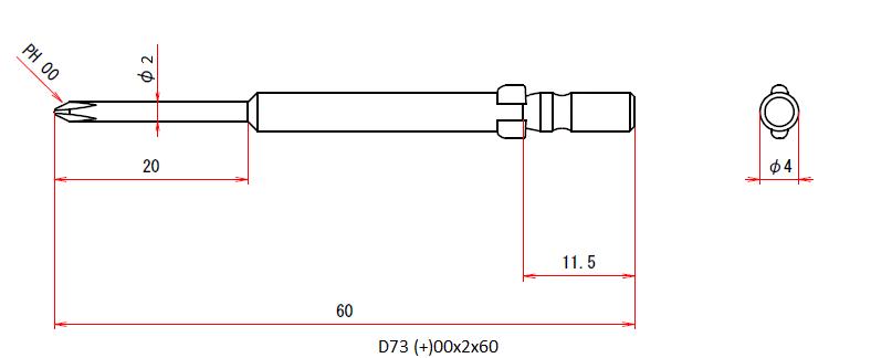 D73 (+)00x2x60