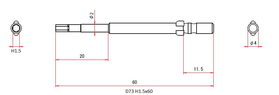 D73 H1.5x2x60