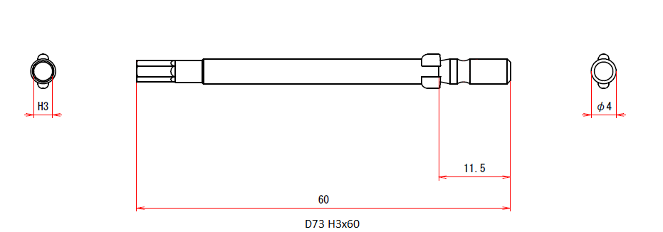 D73 H3x4x60