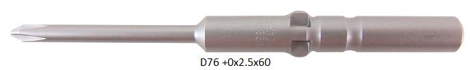 D76 (+)0x2.5x60