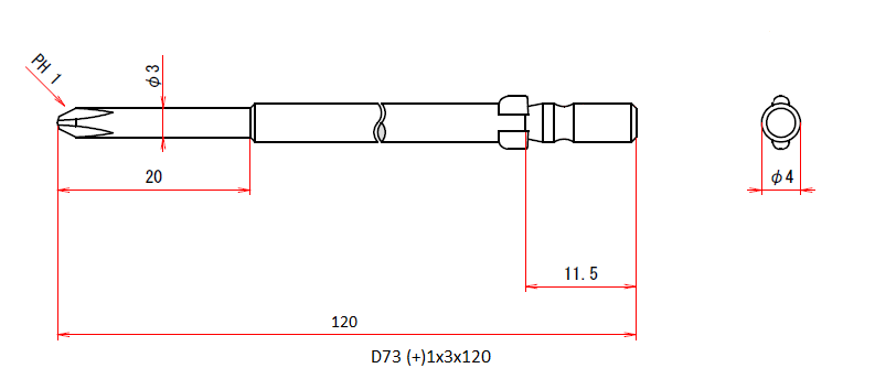 D73 (+)1x3x120