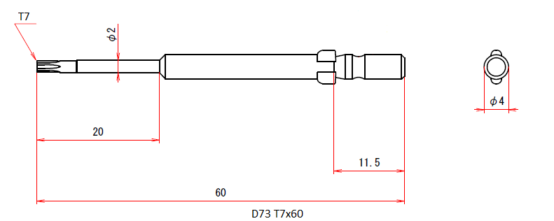 D73 T7x2x20x60