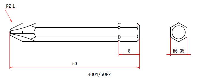3001/50PZ