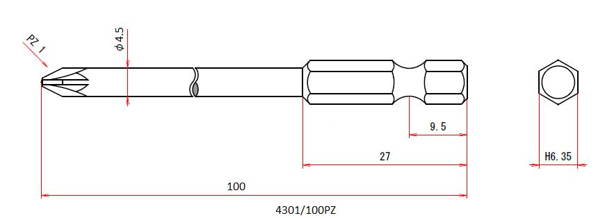 4301/100PZ