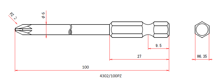 4302/100PZ