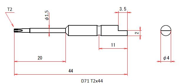 D71 T2x44