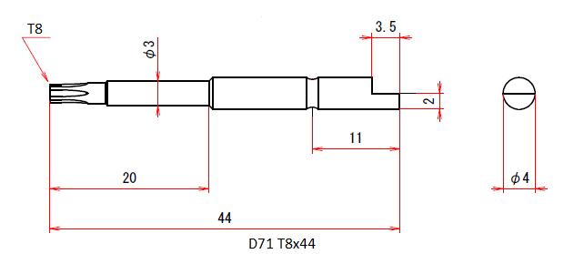 D71 T8x44