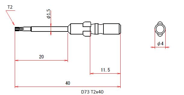 D73 T2x40