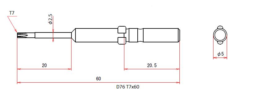 D76 T7x60