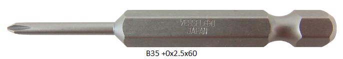 B35 (+)0x2.5x60