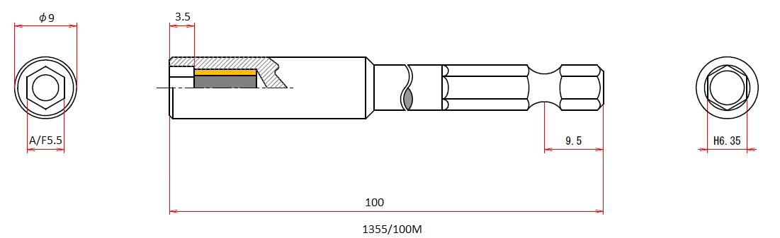 1355/100M