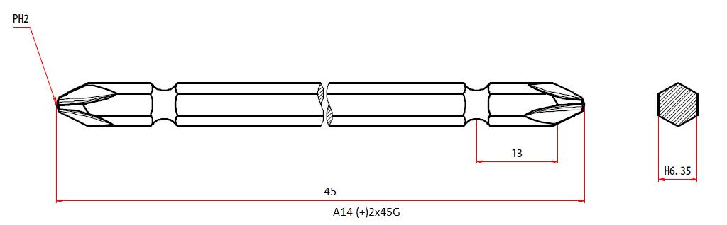 A14 +2x45G