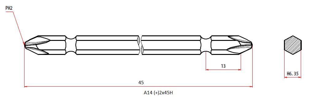 A14 +2x45H