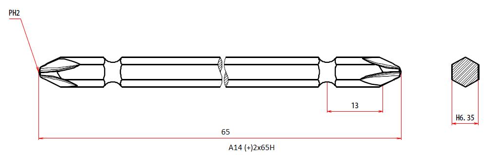 A14 +2x65H