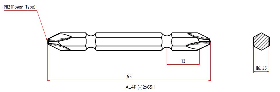 A14P +2x65H