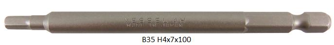 B35 H4x7x100