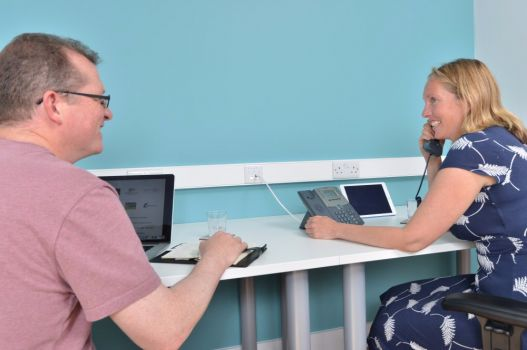 A co-working idyll in the heart of Devon