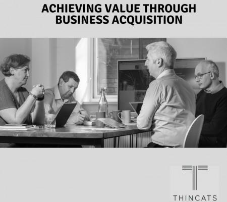 Achieving value through Business Acquisition image