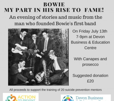 Bowie - my part in his rise to fame image