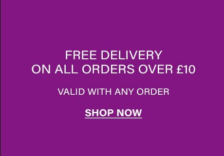 Free UK Delivery with Orders over £10!