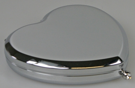 Heart Shaped Compact