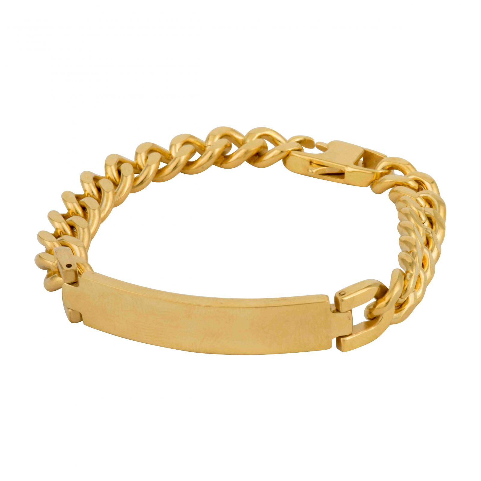 Men's ID Bracelet - Colour Plated Finish.