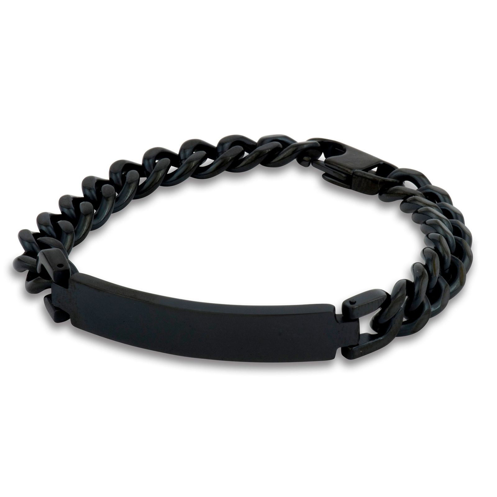 Men's ID Bracelet - Colour Plated Finish.