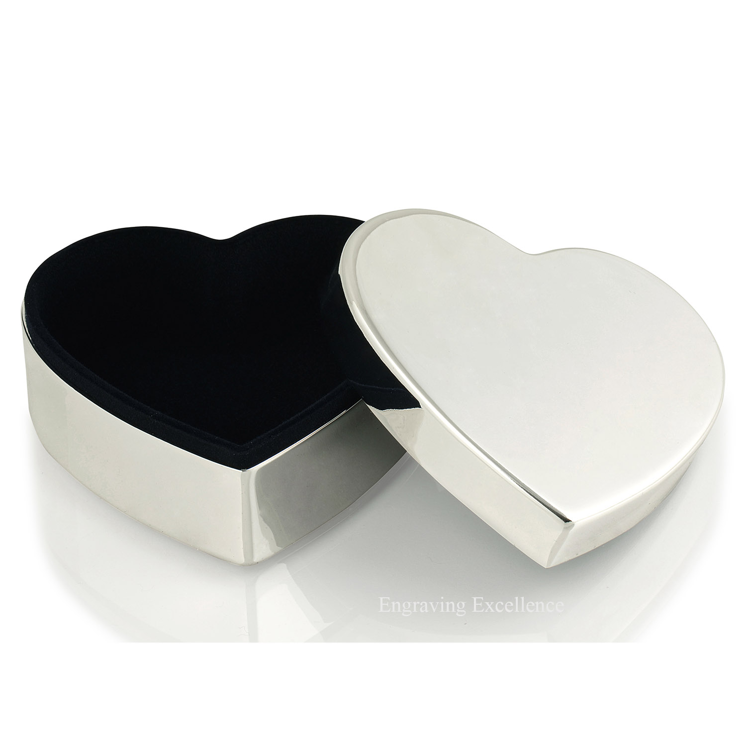 Large Heart Shaped Trinket Box