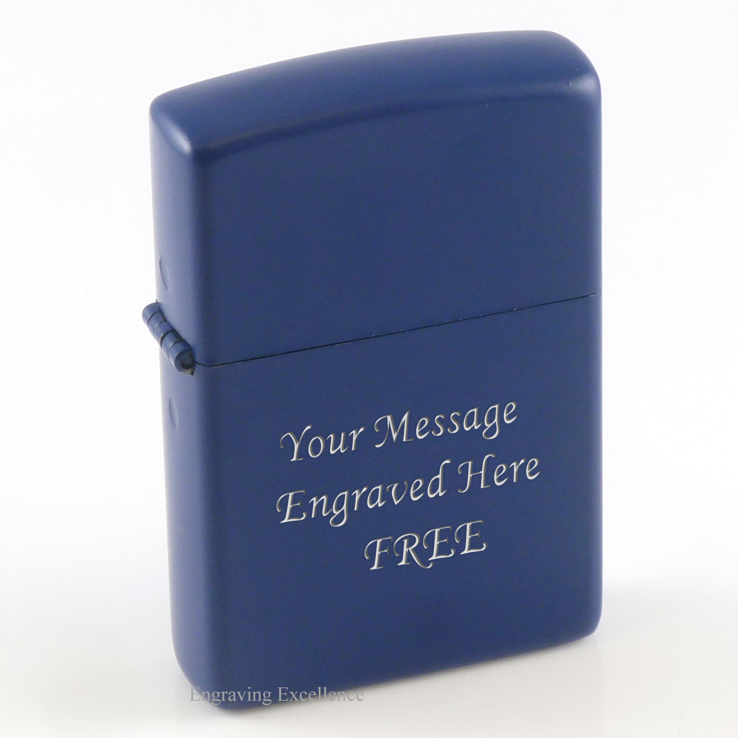 Personalised Blue Lighter