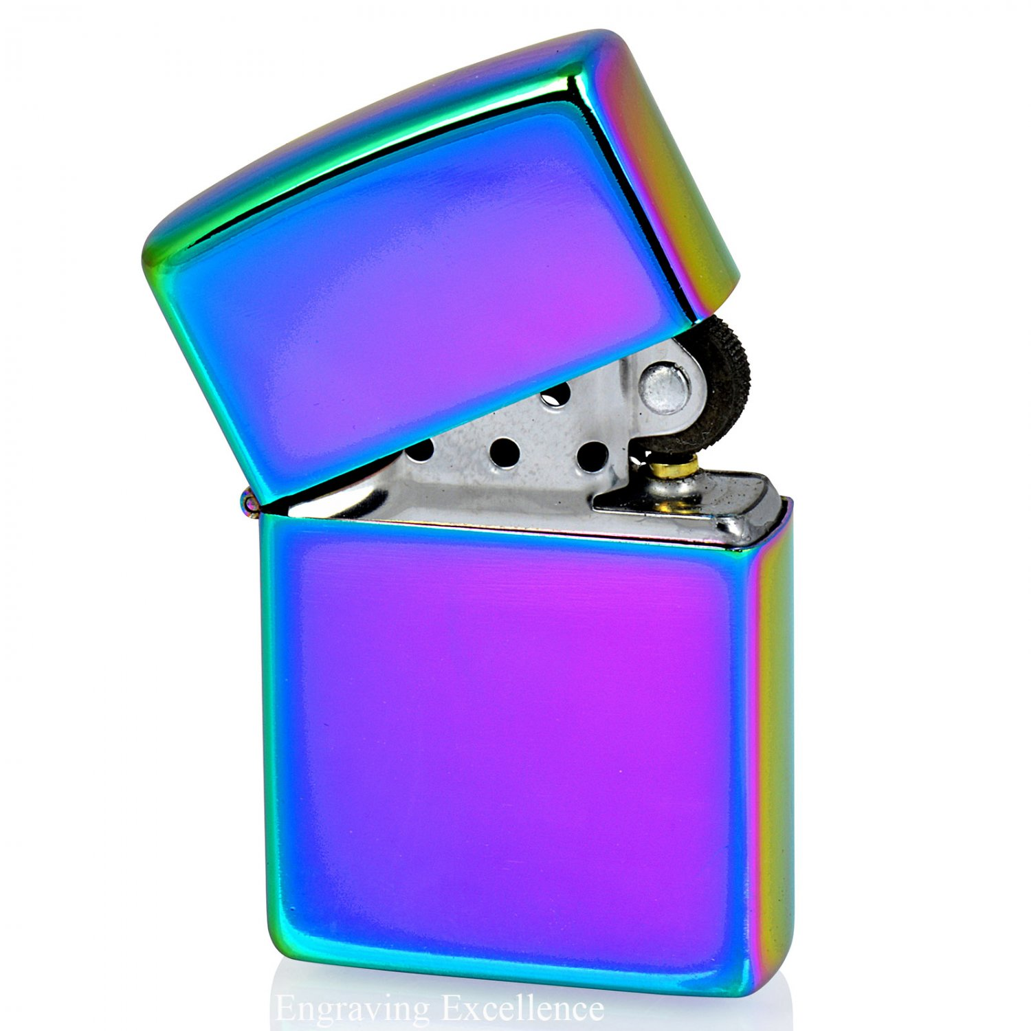 Multi-Coloured Flip Lighter