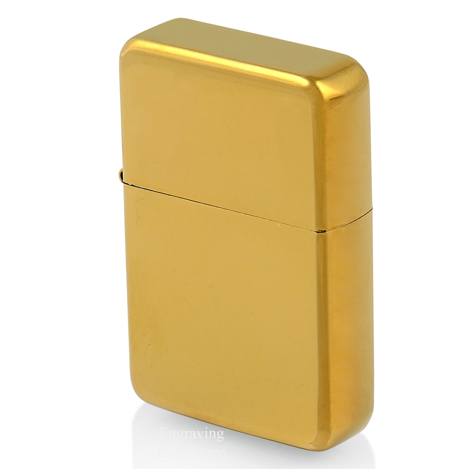 Personalised Gold Lighter