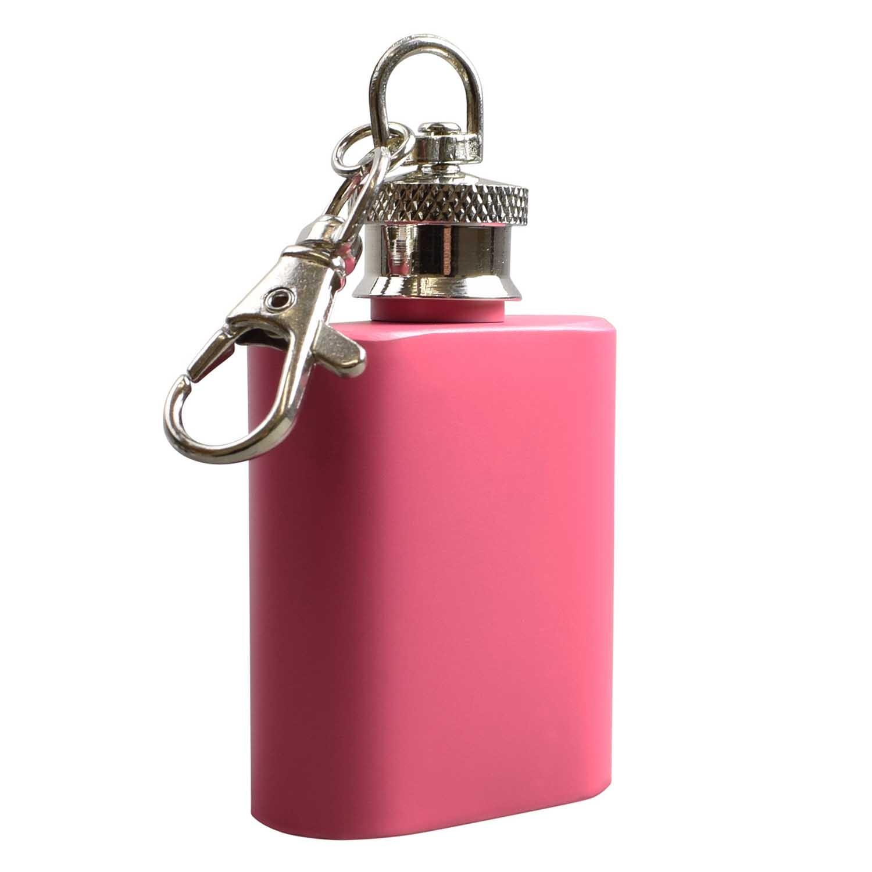 1oz  Pink Hip Flask