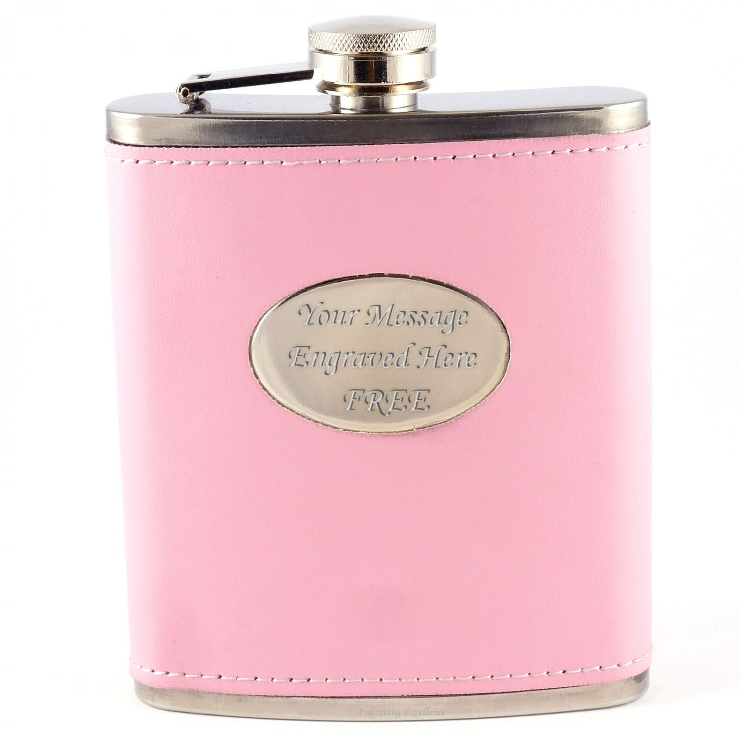Pink Hip Flask