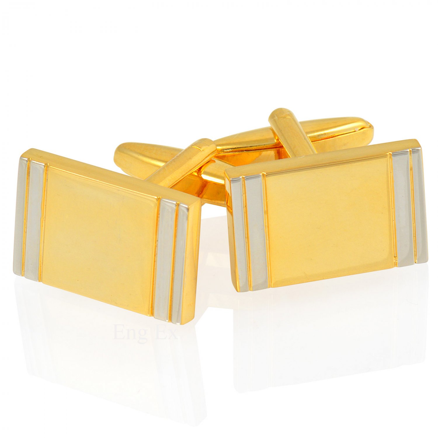 Cufflinks - Gold and Silver