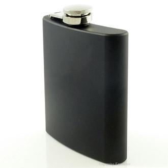 Black Hip Flask 6oz