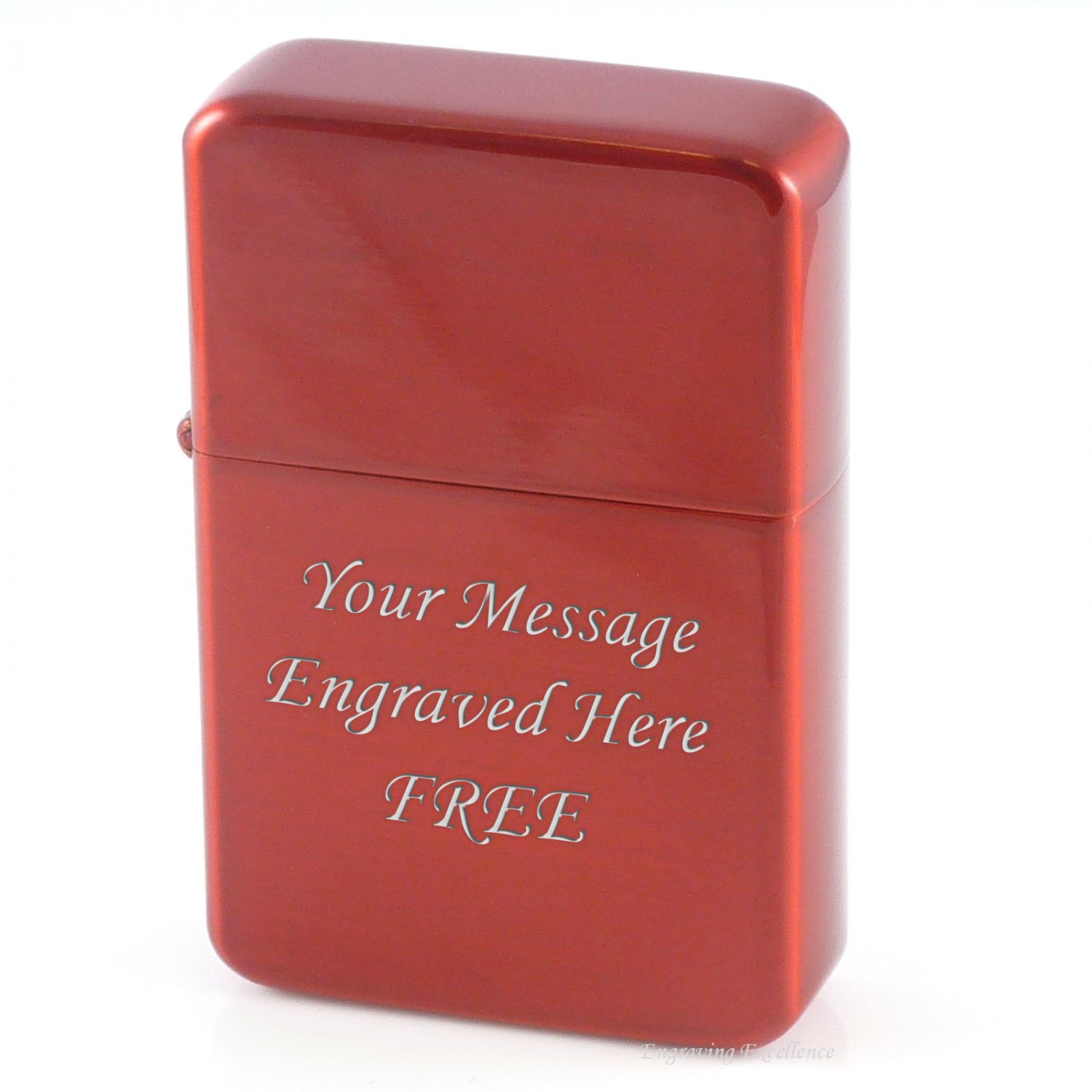 Personalised Red Lighter