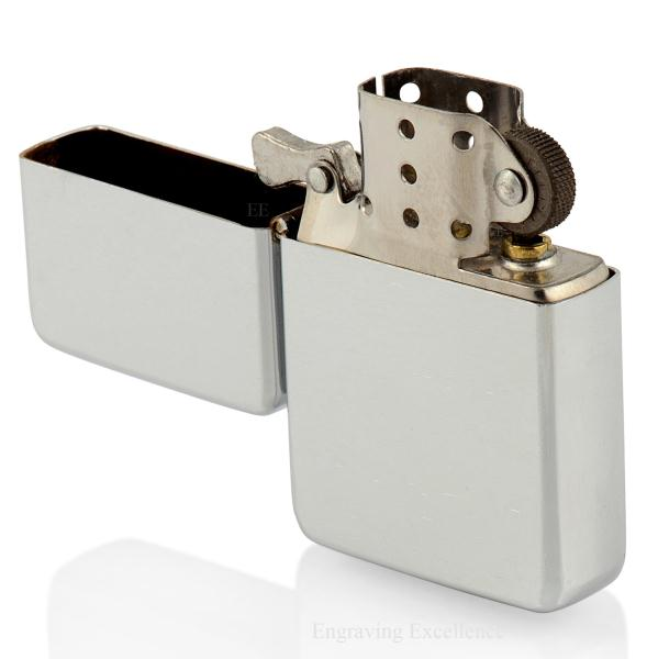 Brushed Effect, Silver Tone Lighter