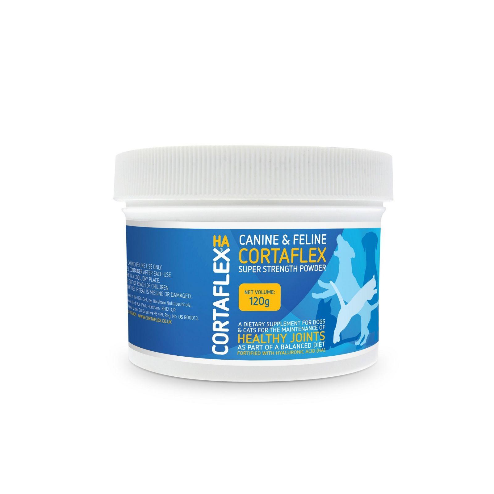CANINE & FELINE CORTAFLEX® HA POWDER