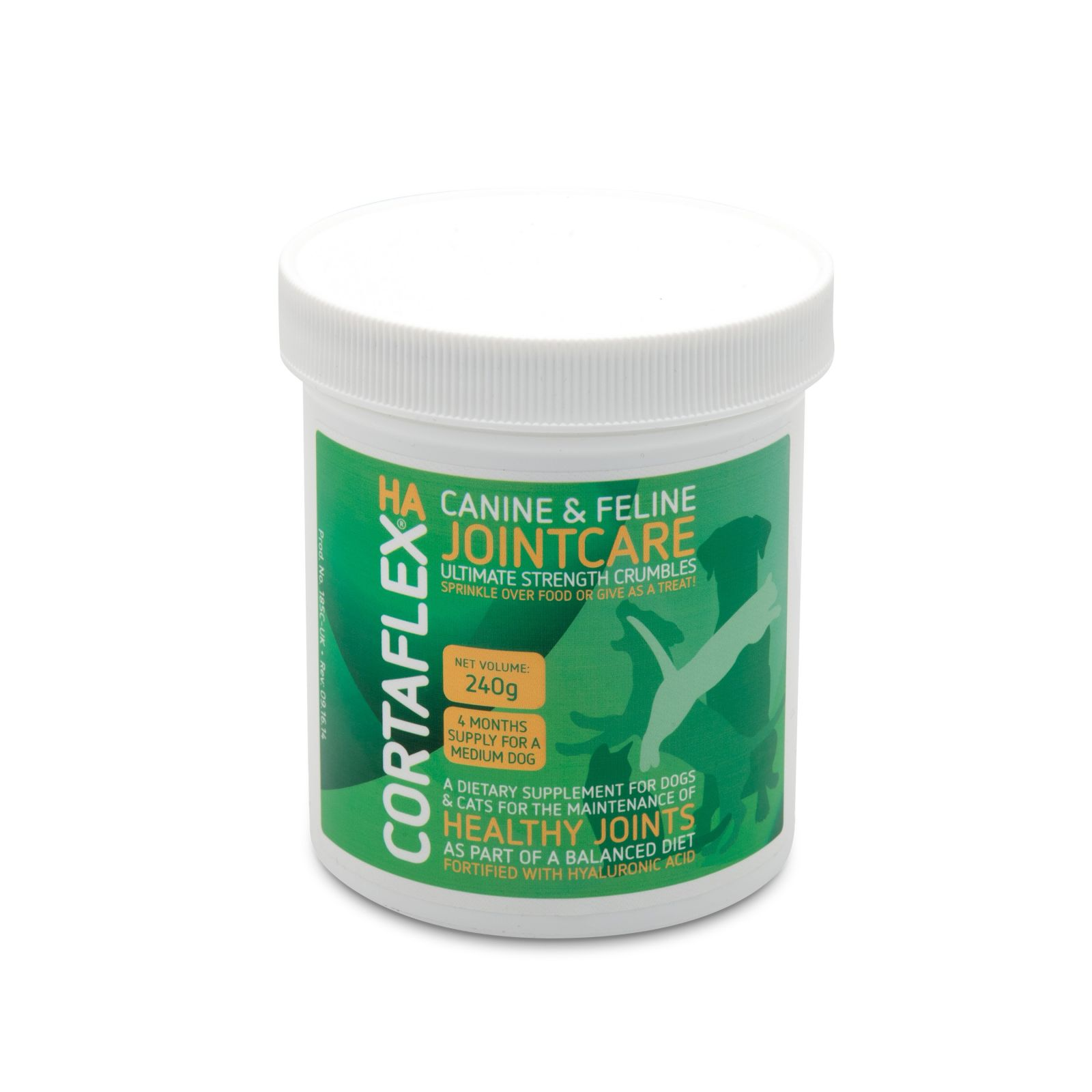 CANINE & FELINE CORTAFLEX® ULTIMATE STRENGTH CRUMBLES