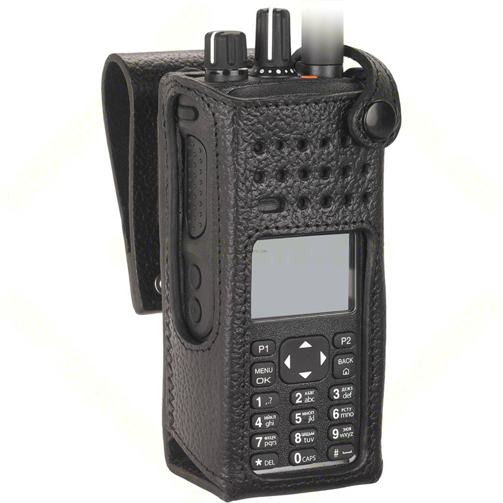 HARD LEATHER CARRY CASE DISPLAY RADIO - DP4000 SERIES