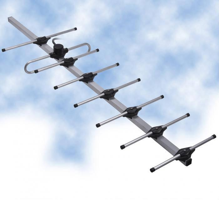 8 ELEMENT MINI-YAGI - VHF